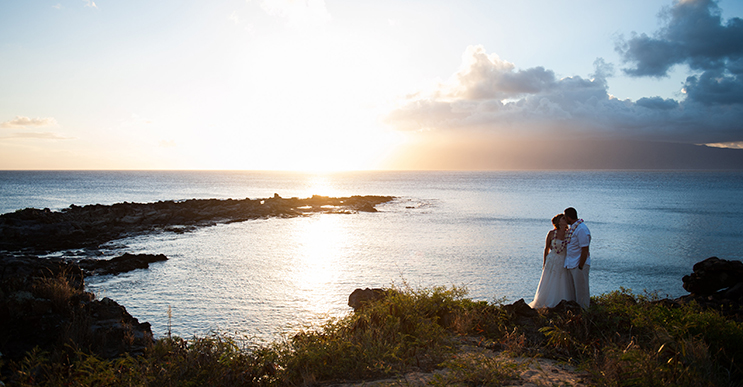 Patrick & Kristen // A destination wedding in Maui // Click here to see more.