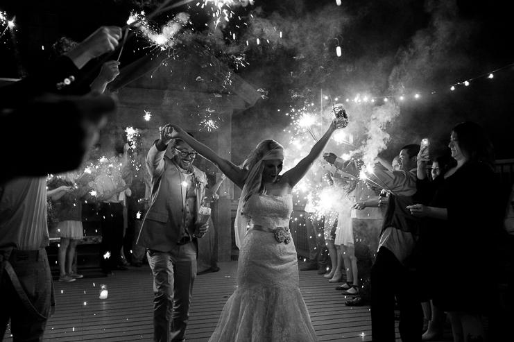 105 sparkler exit wedding crested butte limelife photography 105