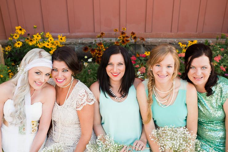 18 bohemian bridesmaids colorado wedding limelife photography 018