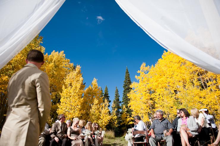 37 fall wedding altar limelife photography 037