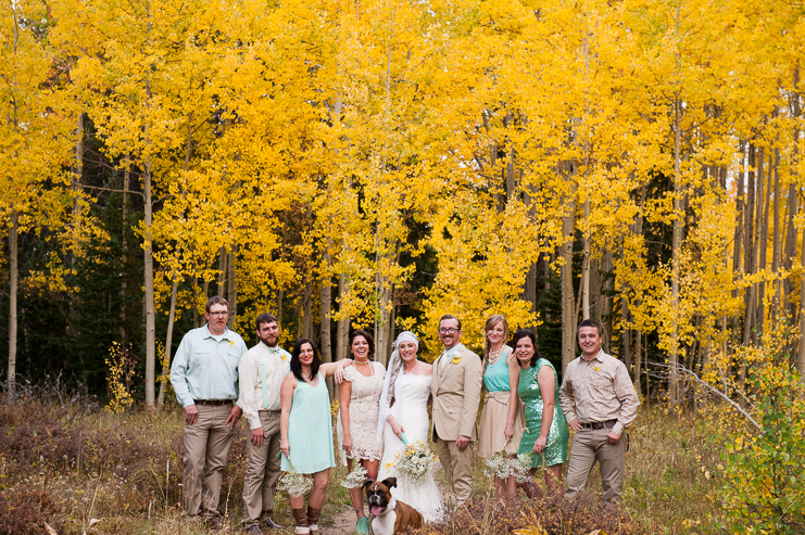 Limelife Photography fall wedding party photos