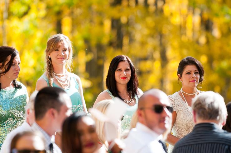 Limelife Photography yellow aspens bridesmaids