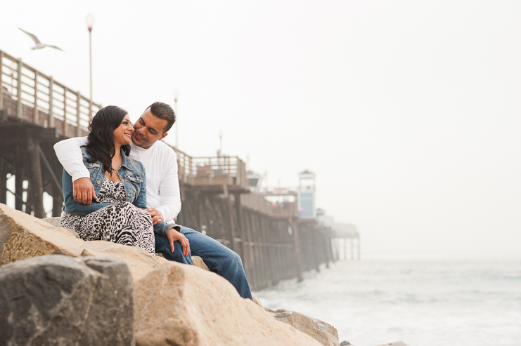 5 beach pier engagement photos Limelife Photography_005