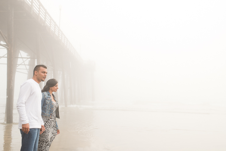 7 foggy beach engagement photos Limelife Photography_007