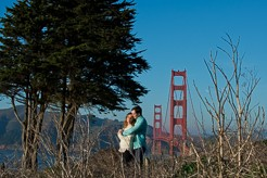 San Francisco Engagement Session golden gate bridge-1